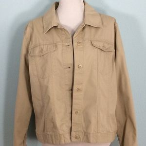 Covington Khaki Blazer w/Two Chest Pockets
